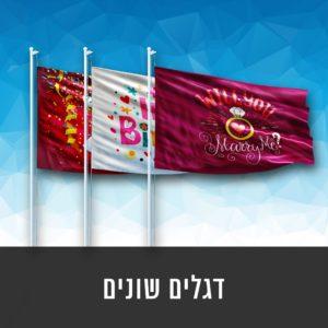 דגלים שונים